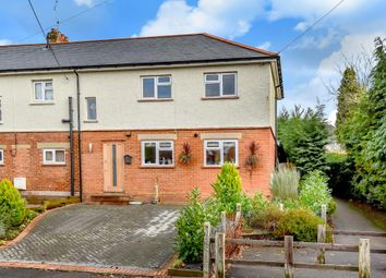 Thumbnail 3 bedroom end terrace house for sale in Windlesham, Surrey