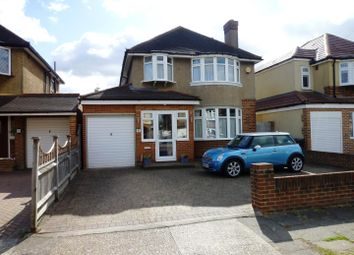 Thumbnail 4 bed detached house for sale in Fairfield Way, Ewell Court, Epsom