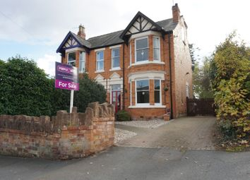 Thumbnail 4 bed semi-detached house for sale in Manor Avenue, Kidderminster