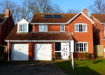Thumbnail 4 bed detached house for sale in Youngs Close, Coddington, Newark