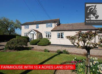 Thumbnail 5 bed farmhouse for sale in High Bridge Road, Alvingham, Louth