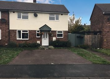 Thumbnail 2 bed semi-detached house for sale in Embry Road, Wittering, Peterborough