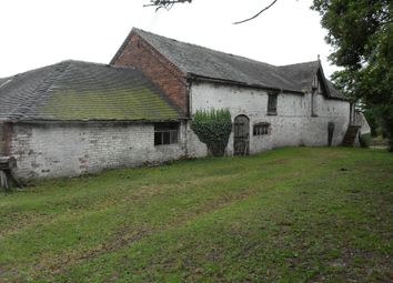 Thumbnail 8 bed barn conversion for sale in Draycott Road, Tean, Stoke-On-Trent