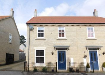 Thumbnail 3 bed end terrace house for sale in Kipling Crescent, Fairfield, Hitchin