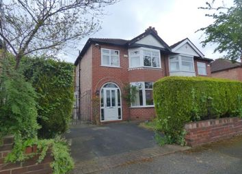 Thumbnail 3 bed semi-detached house for sale in Rudyard Grove, Sale, Trafford, Greater Manchester