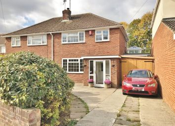 Thumbnail 4 bed semi-detached house for sale in Masefield Avenue, Stratton, Swindon