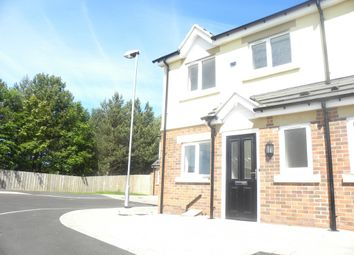 Thumbnail 2 bed end terrace house for sale in Kensington Close, Seghill, Cramlington