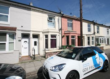 Thumbnail 2 bed terraced house to rent in Landguard Road, Southsea