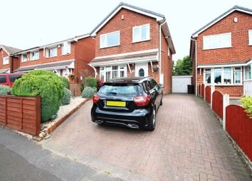 Thumbnail 3 bed detached house for sale in Minerva Close, Knypersley, Staffordshire