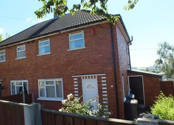 Thumbnail 2 bed semi-detached house for sale in Romney Avenue, Chesterton, Newcastle-Under-Lyme