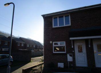 Thumbnail 2 bedroom end terrace house for sale in 28 Carreg Yr Afon, Godrergraig, Swansea.