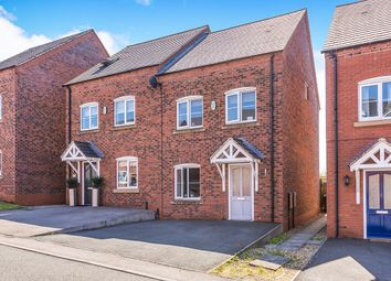 Thumbnail 4 bed semi-detached house for sale in Lakeshore Crescent, Whitwick, Coalville