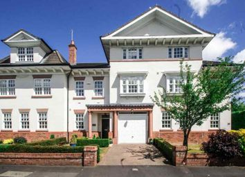 Thumbnail 4 bed town house for sale in Vale Road, Bowdon, Altrincham