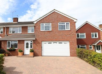 Thumbnail 5 bed semi-detached house for sale in Waterbeech Drive, Hedge End, Southampton