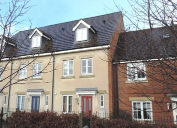 Thumbnail 3 bed town house to rent in Dolcey Way, Sharnbrook, Bedford