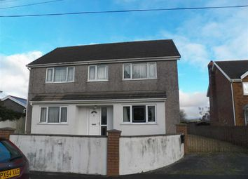 Thumbnail 4 bed detached house for sale in Station Road, Llangennech, Llanelli