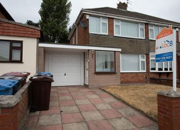 Thumbnail 3 bedroom semi-detached house for sale in Rowan Drive, Kirkby, Liverpool