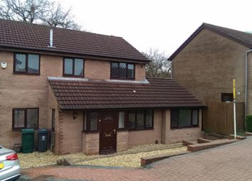 Thumbnail 4 bed property to rent in Oakford Close, Pontprennau, Cardiff