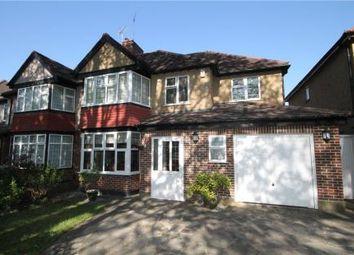 Thumbnail 4 bedroom semi-detached house for sale in Chestnut Avenue, Ewell, Epsom