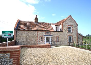 Thumbnail 4 bed detached house for sale in Holt Road, Cley, Norfolk