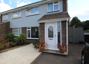Thumbnail 3 bedroom semi-detached house for sale in Curlew Close, Ferndown