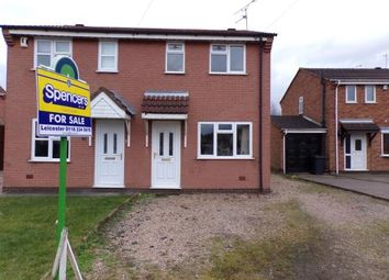 Thumbnail 2 bed semi-detached house for sale in Lime Avenue, Groby, Leicester, Leicestershire