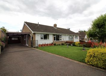 Thumbnail 2 bedroom semi-detached bungalow for sale in Hadden Close, Poringland, Norwich