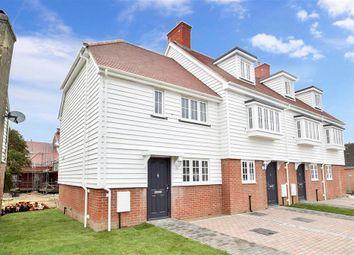 Thumbnail 2 bed end terrace house for sale in King Street, Brenzett, Romney Marsh, Kent