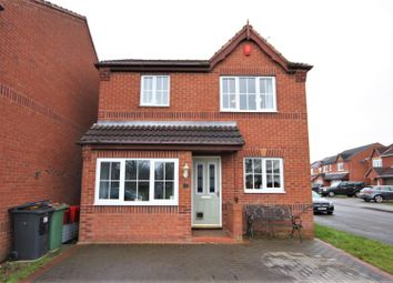 Thumbnail 3 bed detached house for sale in Belcher Close, Heather, Coalville