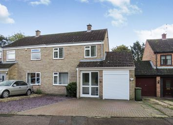 Thumbnail 3 bedroom semi-detached house for sale in North Pickenham Road, Necton, Swaffham