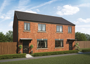 Thumbnail 1 bed semi-detached house for sale in Moorfields, Whitehouse Drive, Killingworth, Northumberland