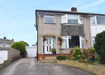 Thumbnail 3 bed semi-detached house for sale in Aireville Crescent, Silsden, West Yorkshire