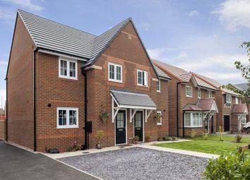 "Thumbnail 4 bedroom semi-detached house for sale in ""Oakham"" at Winnington Avenue, Northwich"
