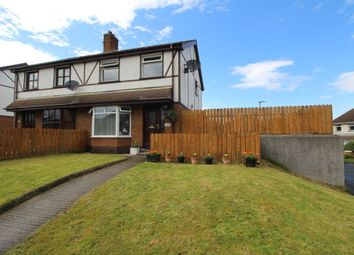 Thumbnail 3 bed semi-detached house for sale in Towerview Crescent, Bangor