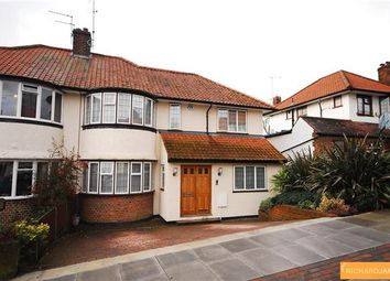 Thumbnail 4 bed semi-detached house for sale in Lawrence Avenue, London