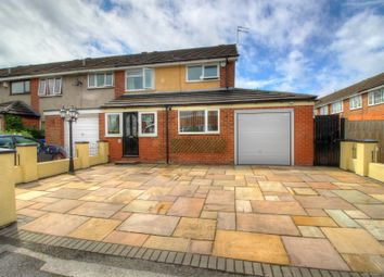 Thumbnail 3 bed semi-detached house for sale in Ebbdale Close, Stockport