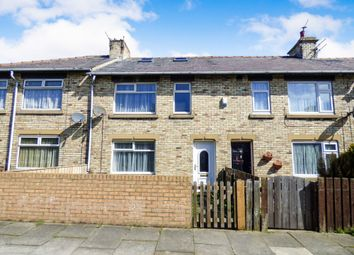 Thumbnail 3 bed terraced house for sale in Emerson Road, Newbiggin-By-The-Sea