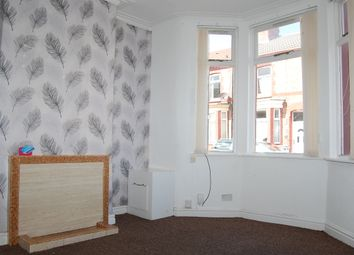 Thumbnail 2 bed terraced house to rent in Oriel Road, Birkenhead