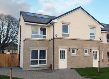 "Thumbnail 3 bedroom terraced house for sale in Plot 52 ""The Brora"" Castlegate Avenue, Dumbarton"