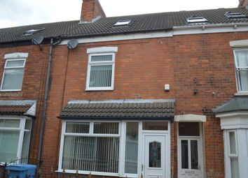 Thumbnail 3 bed terraced house for sale in Myrtle Avenue, Williamson Street, Hull
