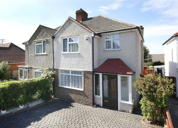 Thumbnail 3 bed semi-detached house for sale in Kingsley Avenue, Banstead, Surrey