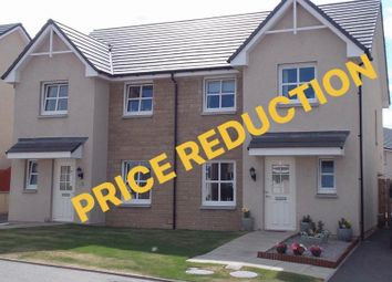 Thumbnail 3 bedroom semi-detached house for sale in Correen Way, Alford