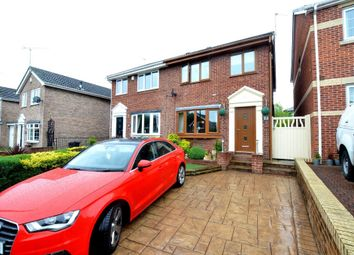 Thumbnail 3 bed semi-detached house for sale in Daleswood Drive, Worsbrough, Barnsley