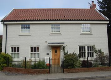 Thumbnail 4 bedroom detached house for sale in Station Road, Melton, Woodbridge