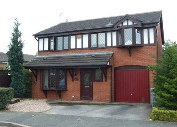 Thumbnail 4 bed detached house to rent in Blakemere Way, Sandbach
