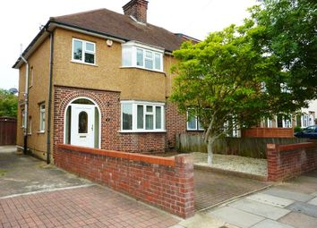 Thumbnail 3 bed semi-detached house to rent in Norfolk Avenue, Watford