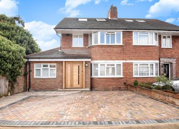 Thumbnail 4 bed semi-detached house for sale in Wychwood Close, Canons Park