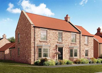 Thumbnail 4 bed detached house for sale in Knaresborough Road, Bishop Monkton, North Yorkshire