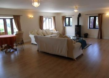 Thumbnail 4 bed detached house to rent in The Great Barn, The Hollies, Pentre-Poeth Road, Rhiwderin