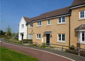 Thumbnail 3 bed terraced house for sale in Buttercup Walk, Red Lodge, Bury St. Edmunds